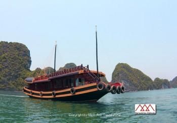 Croisière dans la baie de Lan Ha – Itinéraire non touristique – A partir de 95 USD /personne