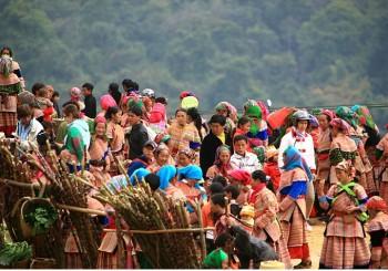 Circuit trekking Nord Vietnam Randonnée à Bacha découverte du pays des Hmong bariolés en 6 jours dès 266 usd