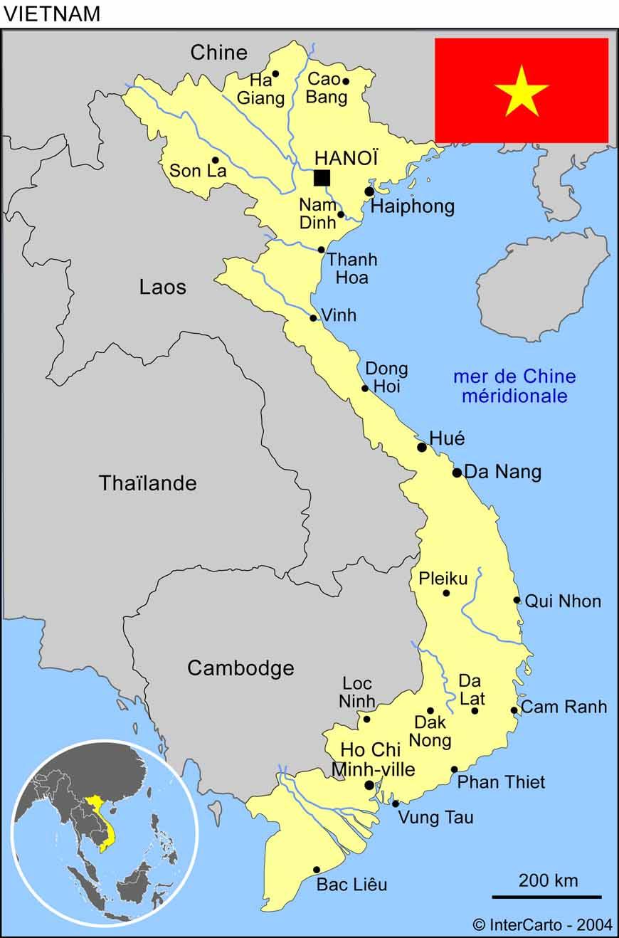 Infos sur ho chi minh ville carte vietnam arts et voyages - Piscine ho chi minh ville ...