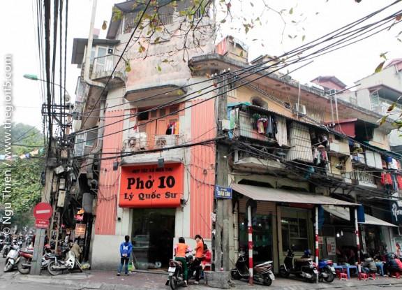 Pho 10, Ly Quoc Su, Hanoi