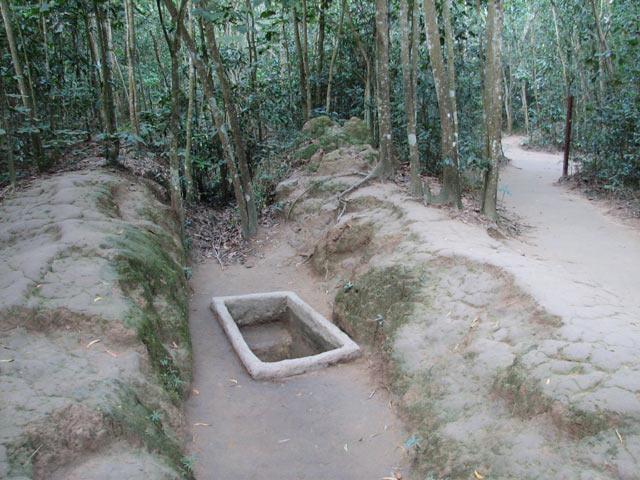Tunnels de Cu Chi - Ho Chi Minh-Ville