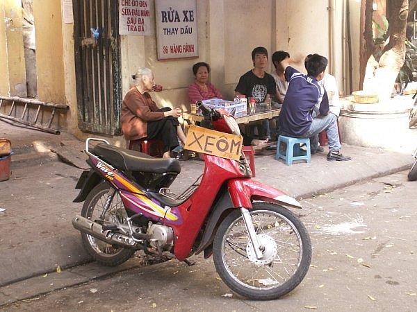 Conduire moto au vietnam