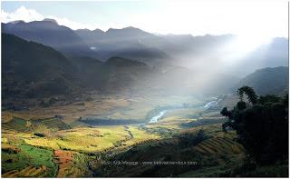 Paysages Nord Vietnam en Novembre