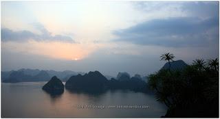 Baie Ha Long en Novembre