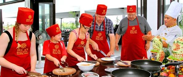 Cooking classe de Hoi An