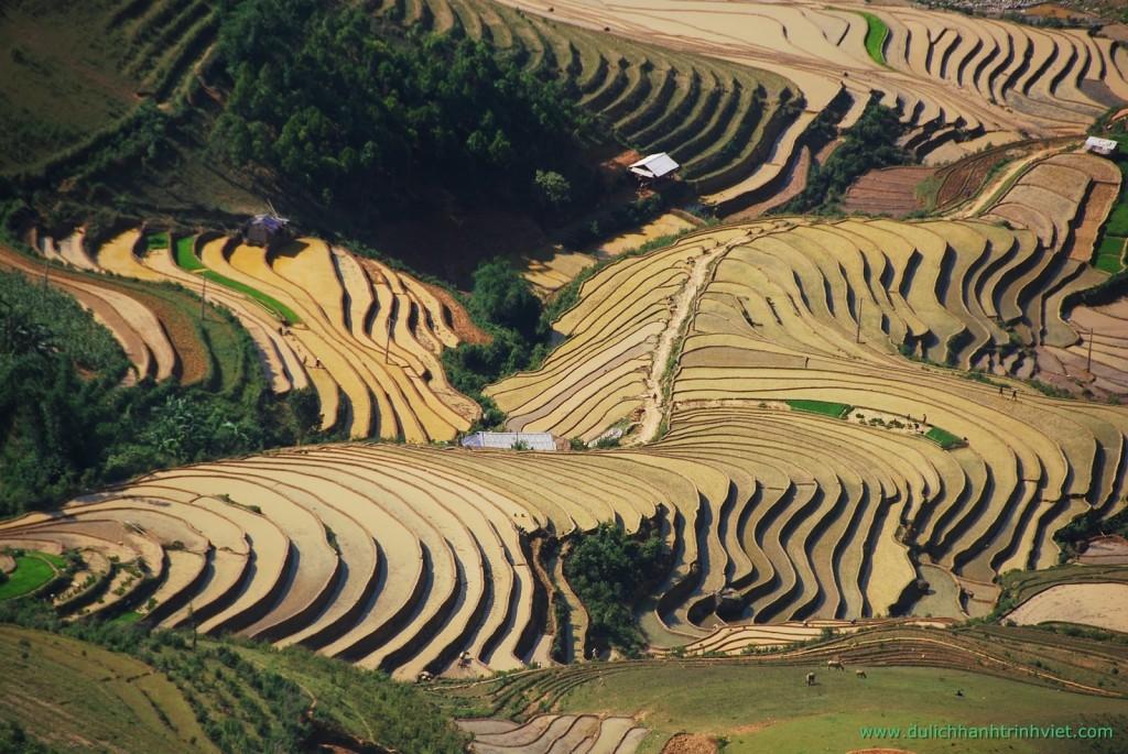 Vue du col Khau Pha en Juin