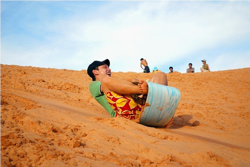 surf sur sable  Mui Ne