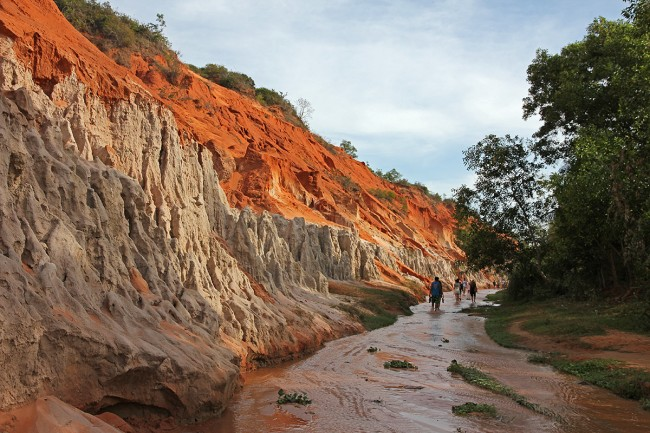 Le red Canyon Mui Ne Vietnam