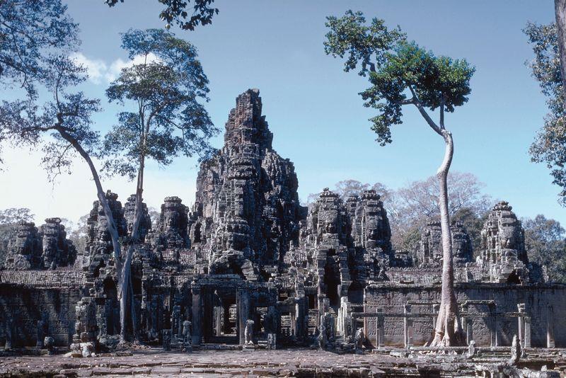 Angkor, au Cambodge