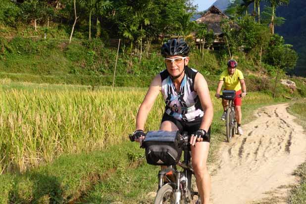 Circuit à vélo à Mai Chau