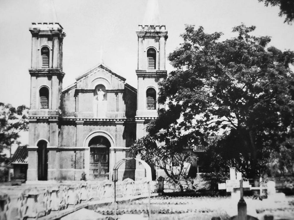 Eglise Hoi An en Noir et Blanc