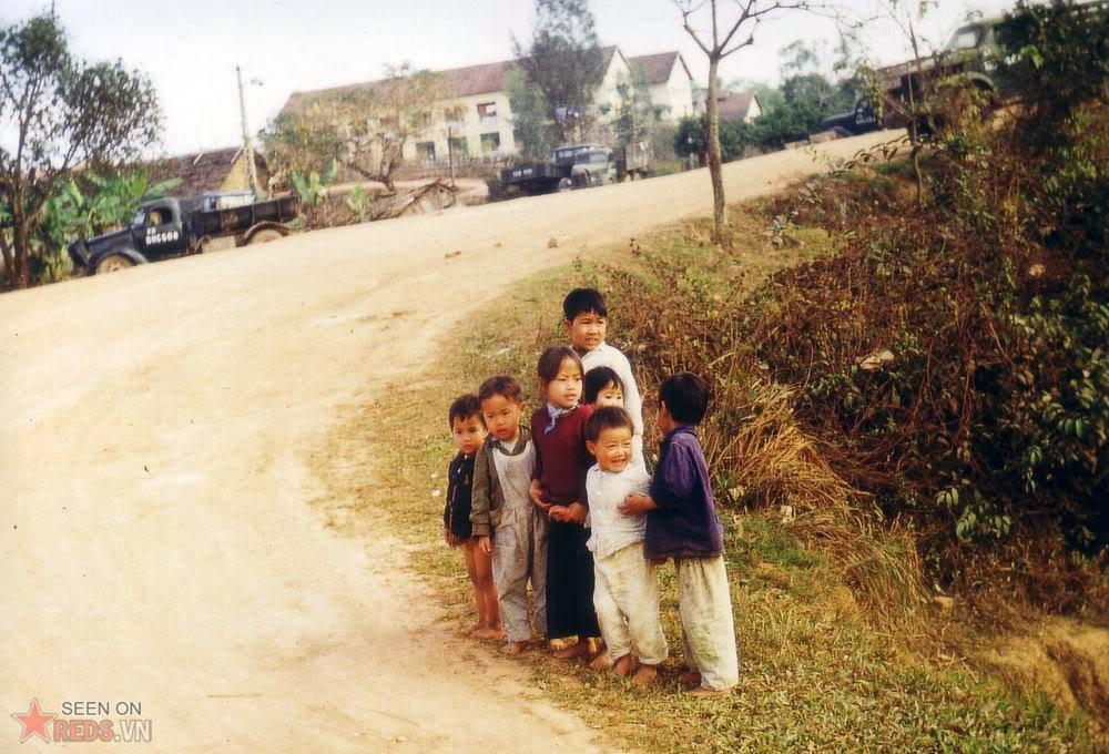 Enfants Nord Vietnam