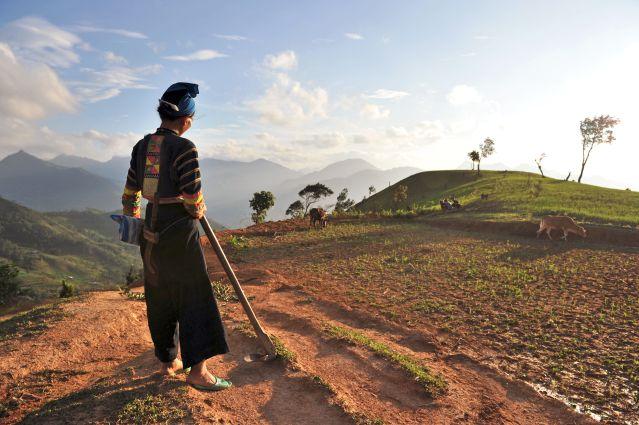 Ethnie des Lolo noirs - Province de Cao Bang - Vietnam