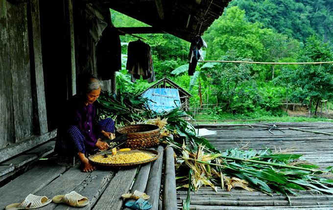 La vie dans les villages Cao Bang