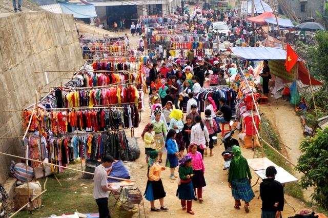 Marché Xin Man, ou Coc Pai, Ha Giang