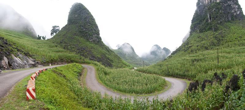 Route de velo Ha Giang