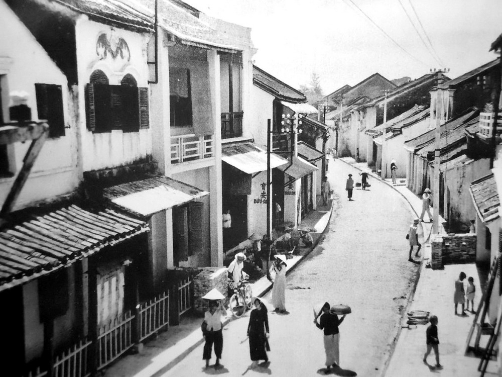 Rue Tran Phu Hoi An en Noir et Blanc