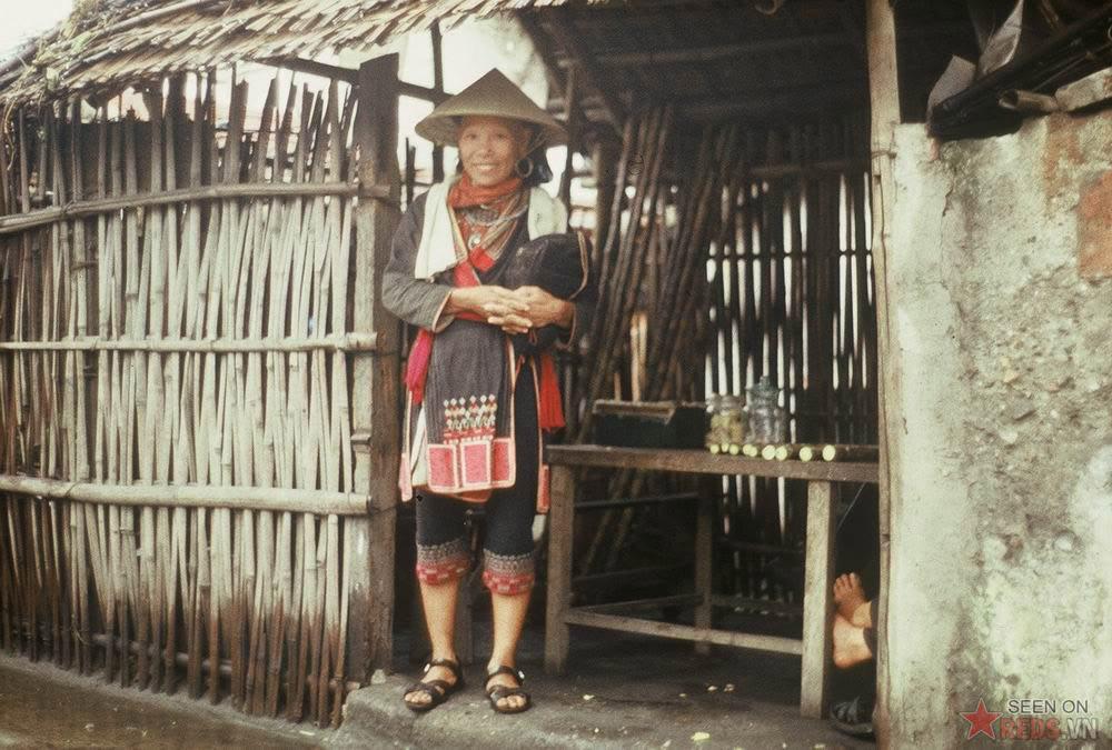 Uen dame de ZAO rouge Nord Vietnam