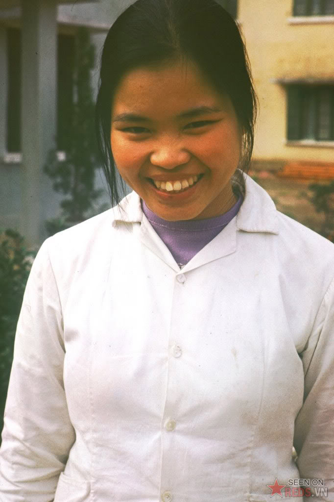 Une fille Nord Vietnam