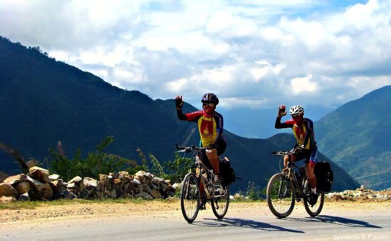 Vientam à vélo Col O quy Ho