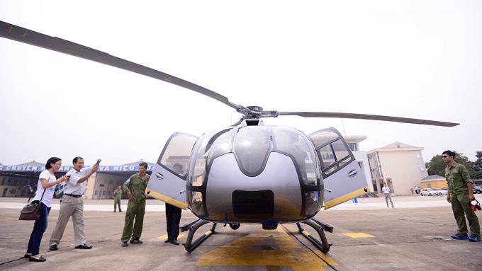 hélicoptère de Hanoi à Sa Pa
