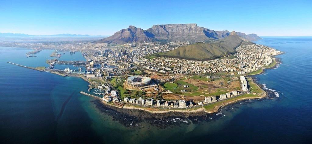 Montagne de la Table en Afrique du Sud