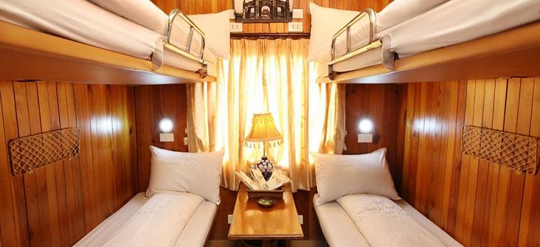 Train couchette de nuit Hanoi Sapa Sapa - Hanoi
