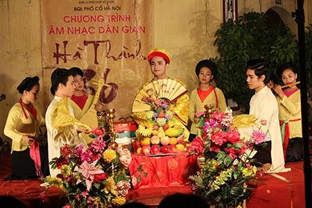 Musique traditonelle Hanoi