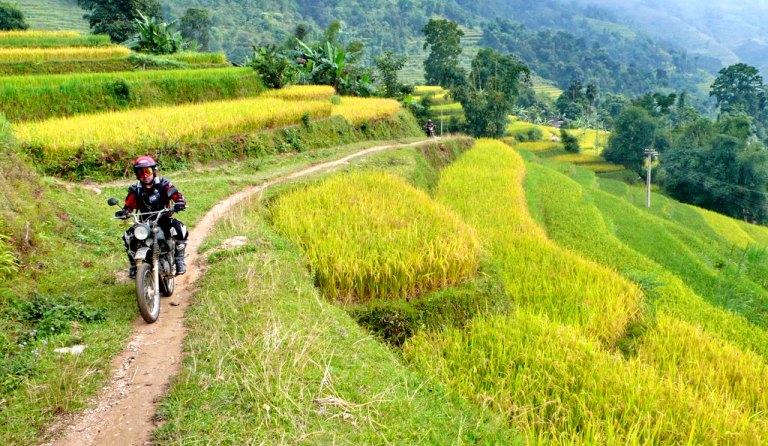 Voyage Nord Vietnam Aventure à moto en 4 jours