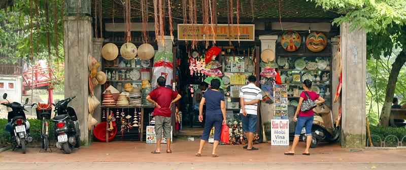Shopping à Hanoi